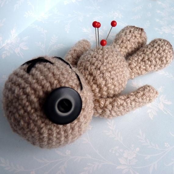 Amigurumi Brown Voodoo Doll