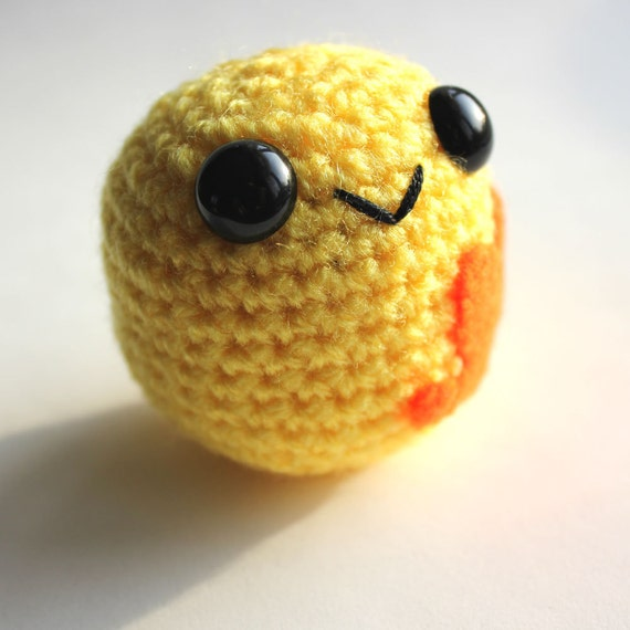 Amigurumi Yellow Blobite
