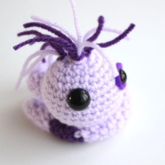 Amigurumi Purple Wriggle