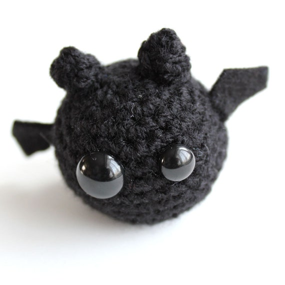 Amigurumi Black Bat