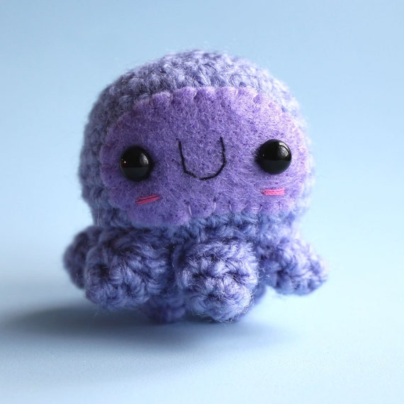 Amigurumi Purple Octopuss Squishling