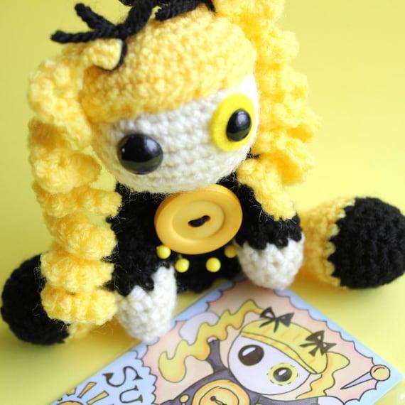 Amigurumi Voodoo Doll : Sunshine the Amigurumi Voodoo Doll