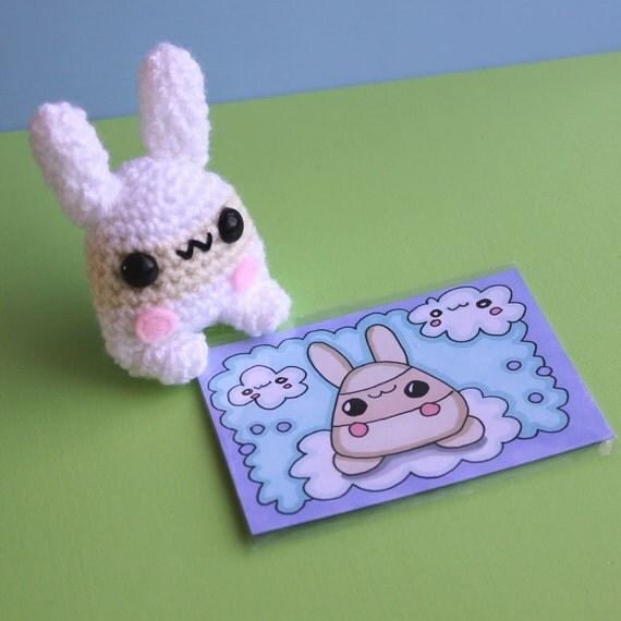 Amigurumi White Chocolate Bunny Yumling