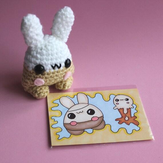 Amigurumi Vanilla Ice Cream Bunny Yumling