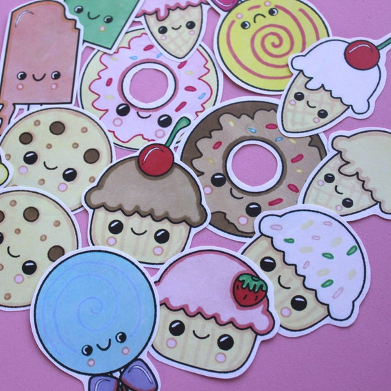 Cake, Candy and Ice Cream Stickers
