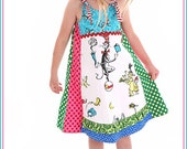 RESERVED LISTING FOR ALLEYKITKAT Euro Crazy Cat Seuss Vida Dress