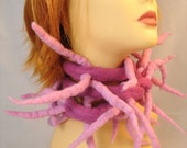Tentacle Scarf - Pinky-Pink
