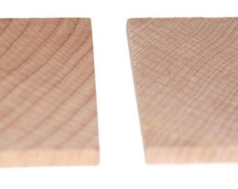 2 Flat Wooden Tiles