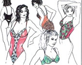 Sewing pattern PBH30 for PUSH-UP Bra Bustier Body