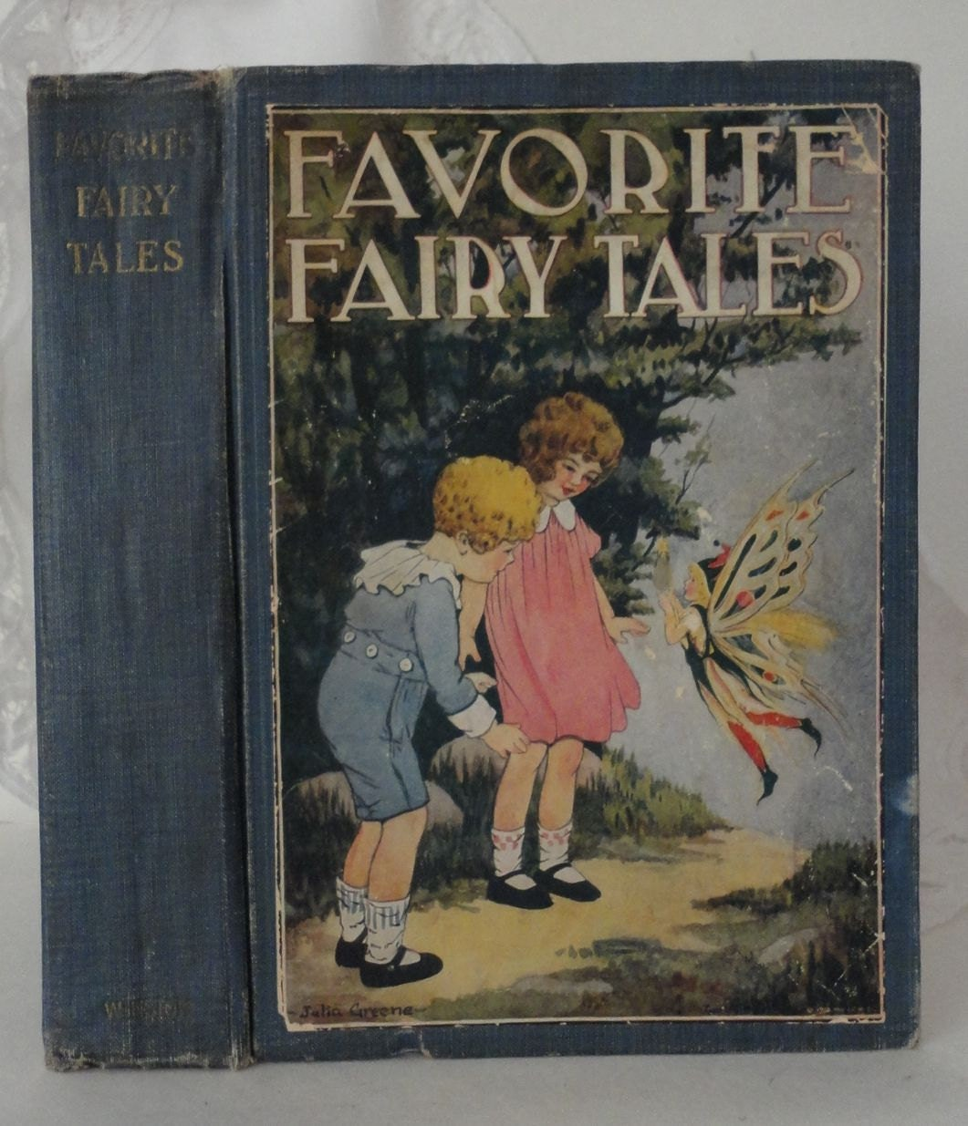 Fairy Tales Keepsake Hollow Book Box From Vintage Book Cover