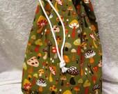 Layla Project Bag - Medium - Mushrooms