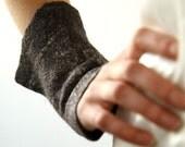 Fingerfull Warmers - Hand Felted - Fingerless Gloves