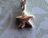 Star Pendant or Charm, Sterling