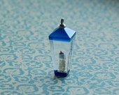 Vintage Lucite Carriage Lamp Charm or Pendant