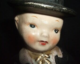 Vintage English Boy Figurine