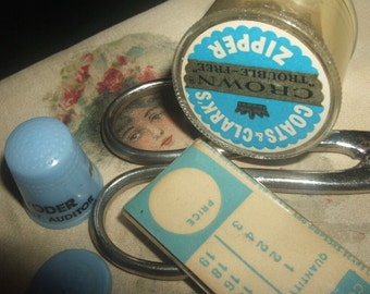 Small Vintage Sewing Lot