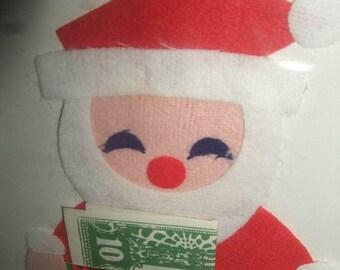 Vintage Japan  Santa Money Holders