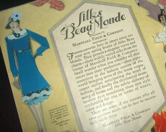 Enhanced Vintage Beau Monde McCall's Ad