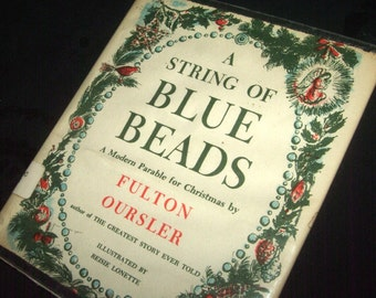 1956 String of Blue Beads Book
