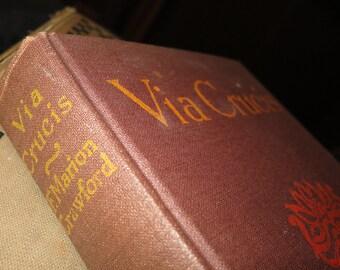 1914 Via Crucis Book