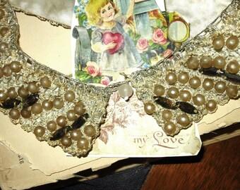 Vintage Beaded Lady's Collar