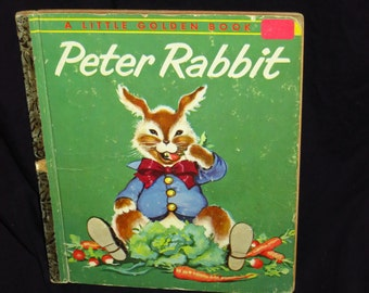 1958 Peter Rabbit Little Golden Book