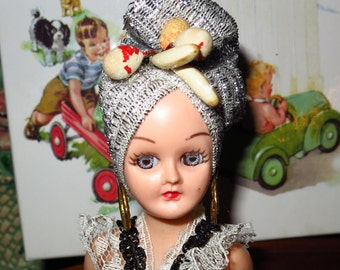 Vintage South American Costumed Doll