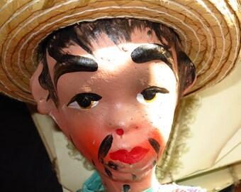 Vintage Mexican Gun Slinger Marionette
