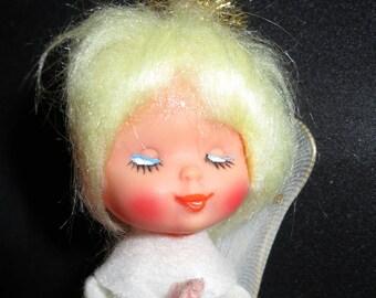 Vintage Christmas Angel Doll
