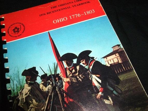 1976 OHIO BICENTNNIAL YEARBOOK