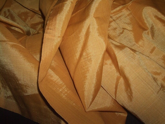 Gorgeous Gold Silk Material