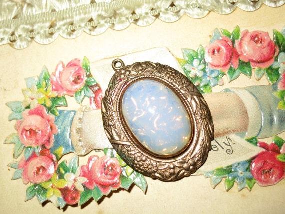 NOW on SALE….Antique Opal Pendant