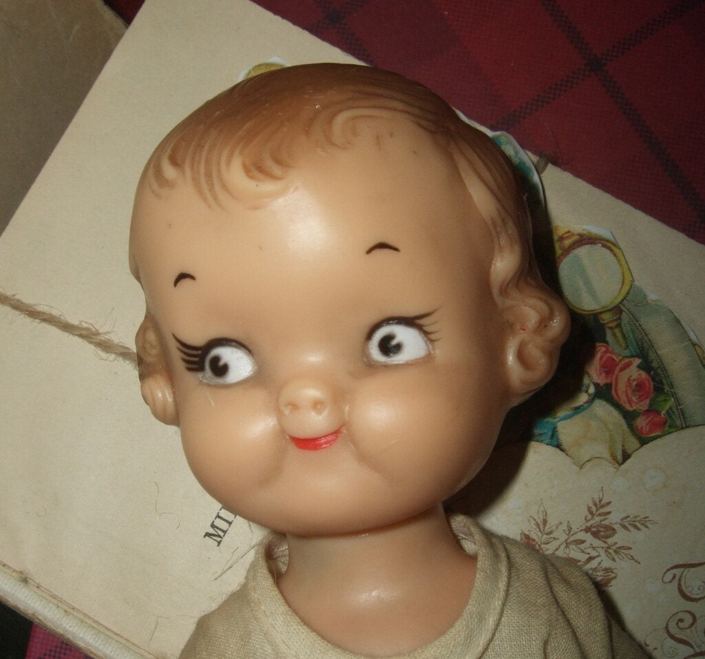 Vintage Ideal Campbell Soup Kids Doll By Saltsmansoap On Etsy