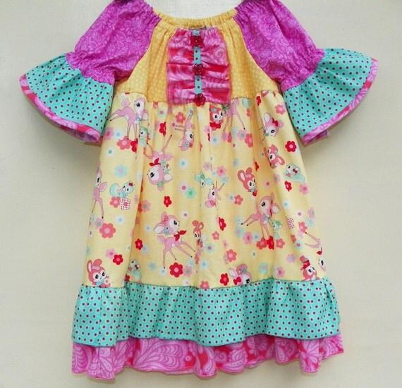 Last One--Rainbow Bright Dress
