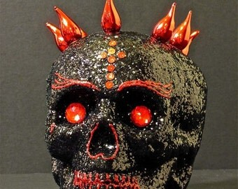 Day of the Dead Calavera Ring of Fire