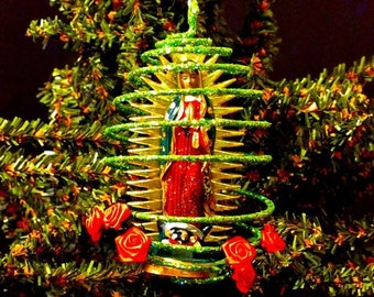 Virgin of Guadalupe Holiday Christmas Tree Ornament