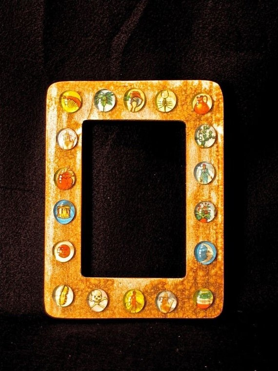 reserved for Carol   33 Loteria picture frames 4 x 6