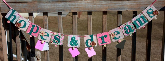 50% off Baby wishes banner - baby shower decoration