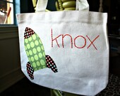 Personalized tote bag for boy