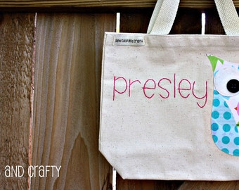 Personalized Tote Bag for girls