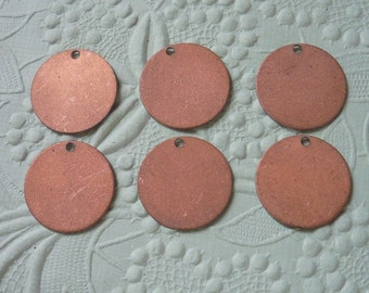 Vintage Copper Plated Discs
