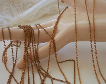 Vintage Brass Chain Delicate