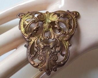 Ornate Brass Stamping