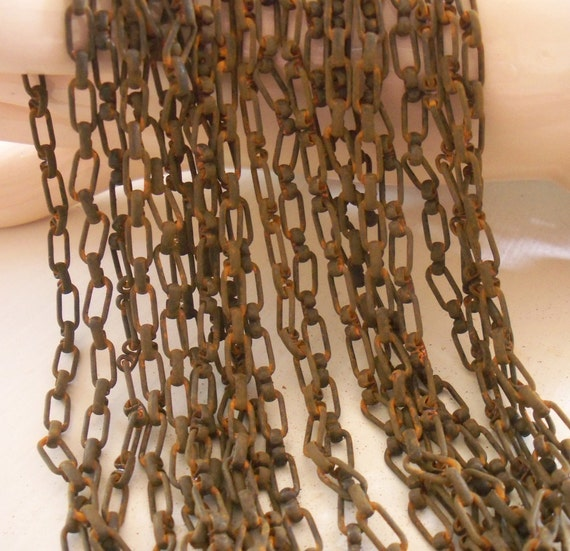 Vintage Steampunk Chain Ox Metal