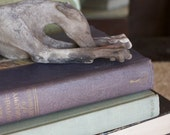 Handmade sleeping Greyhound Whippet dog sculpture 13