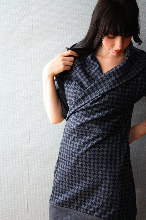 This Blue Houndstooth \/ by Replicca \/ size Small
