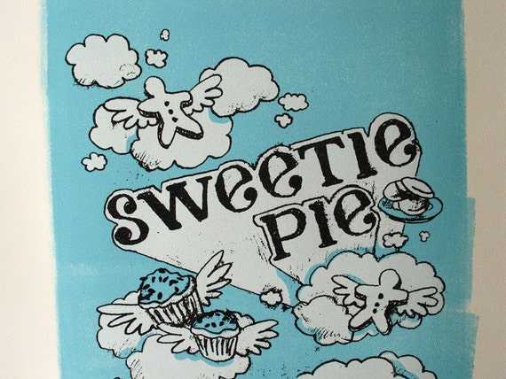 Sweet Dreams silkscreen poster