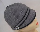 Swinging Sixties Cap Ladies hat  SEWING PATTERN  medium size