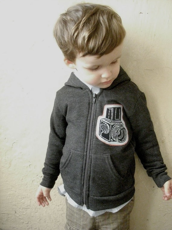 Hasselblad Camera Applique Hoody for Kids and Infants