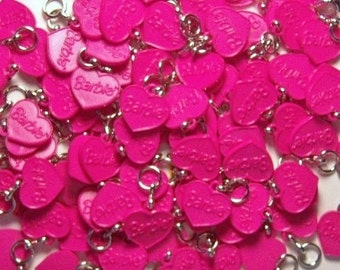 Pink Barbie--25 Charms --Jewelry---Media Art